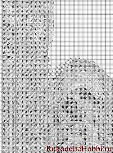 вышивка крестом арабка схема